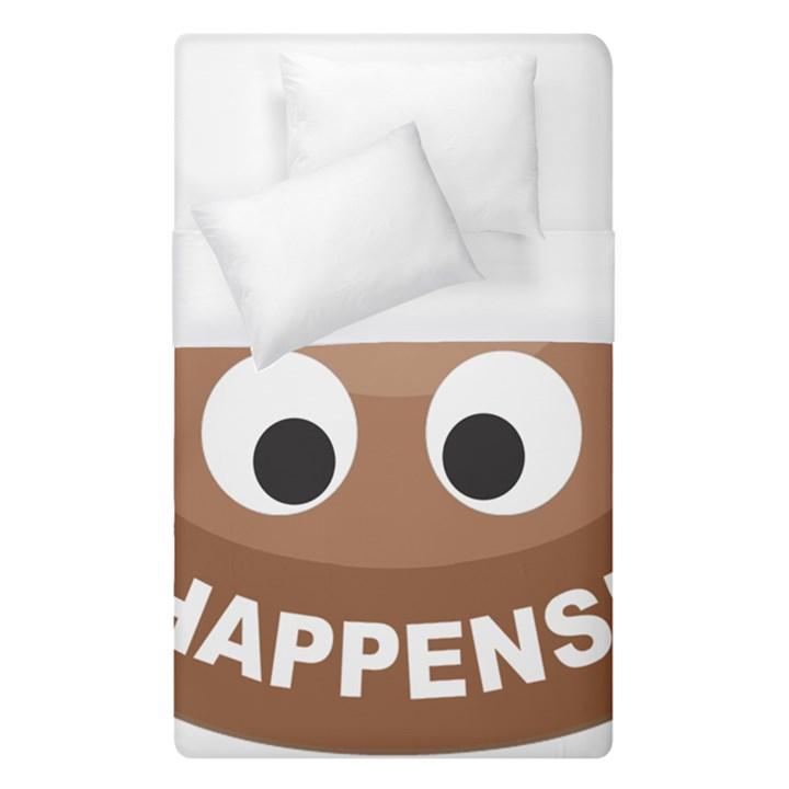 Poo Happens Duvet Cover (Single Size)