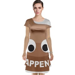Poo Happens Cap Sleeve Nightdress