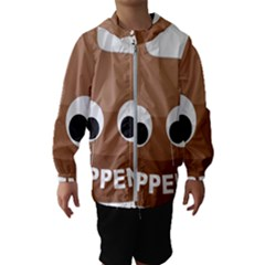 Poo Happens Hooded Wind Breaker (kids)