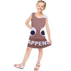 Poo Happens Kids  Tunic Dress