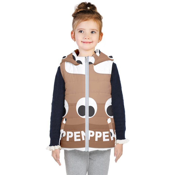 Poo Happens Kid s Puffer Vest