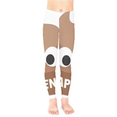 Poo Happens Kids  Legging