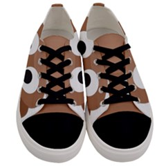 Poo Happens Men s Low Top Canvas Sneakers