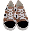 Poo Happens Women s Low Top Canvas Sneakers View1