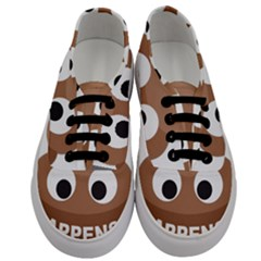 Poo Happens Men s Classic Low Top Sneakers