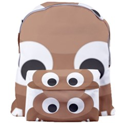 Poo Happens Giant Full Print Backpack