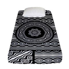 Wavy Panels Fitted Sheet (single Size)