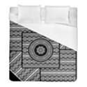 Wavy Panels Duvet Cover (Full/ Double Size) View1
