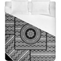 Wavy Panels Duvet Cover (California King Size) View1