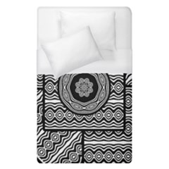 Wavy Panels Duvet Cover (single Size)