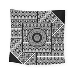 Wavy Panels Square Tapestry (small)