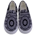 Wavy Panels Kids  Canvas Slip Ons View1