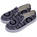 Wavy Panels Kids  Canvas Slip Ons View2