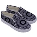 Wavy Panels Kids  Canvas Slip Ons View3