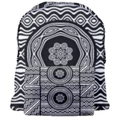 Wavy Panels Giant Full Print Backpack