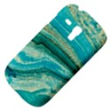 Mint,gold,marble,nature,stone,pattern,modern,chic,elegant,beautiful,trendy Galaxy S3 Mini View4