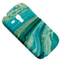 Mint,gold,marble,nature,stone,pattern,modern,chic,elegant,beautiful,trendy Galaxy S3 Mini View5