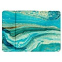Mint,gold,marble,nature,stone,pattern,modern,chic,elegant,beautiful,trendy Samsung Galaxy Tab 8.9  P7300 Flip Case View1
