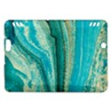 Mint,gold,marble,nature,stone,pattern,modern,chic,elegant,beautiful,trendy Kindle Fire HDX Hardshell Case View1