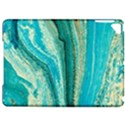 Mint,gold,marble,nature,stone,pattern,modern,chic,elegant,beautiful,trendy Apple iPad Pro 9.7   Hardshell Case View1