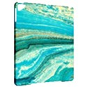 Mint,gold,marble,nature,stone,pattern,modern,chic,elegant,beautiful,trendy Apple iPad Pro 9.7   Hardshell Case View2