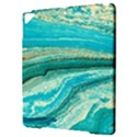 Mint,gold,marble,nature,stone,pattern,modern,chic,elegant,beautiful,trendy Apple iPad Pro 9.7   Hardshell Case View3
