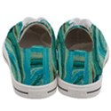 Mint,gold,marble,nature,stone,pattern,modern,chic,elegant,beautiful,trendy Women s Low Top Canvas Sneakers View4