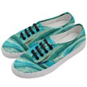 Mint,gold,marble,nature,stone,pattern,modern,chic,elegant,beautiful,trendy Women s Classic Low Top Sneakers View2