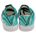 Mint,gold,marble,nature,stone,pattern,modern,chic,elegant,beautiful,trendy Women s Classic Low Top Sneakers View4
