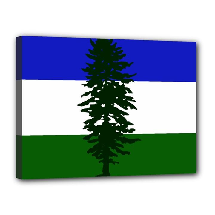 Flag of Cascadia Canvas 16  x 12