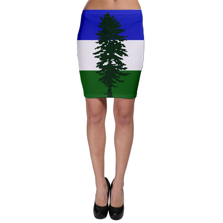 Flag of Cascadia Bodycon Skirt