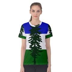 Flag Of Cascadia Women s Cotton Tee