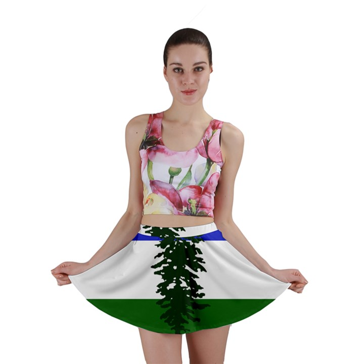 Flag of Cascadia Mini Skirt