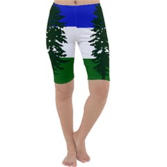 Flag Of Cascadia Cropped Leggings