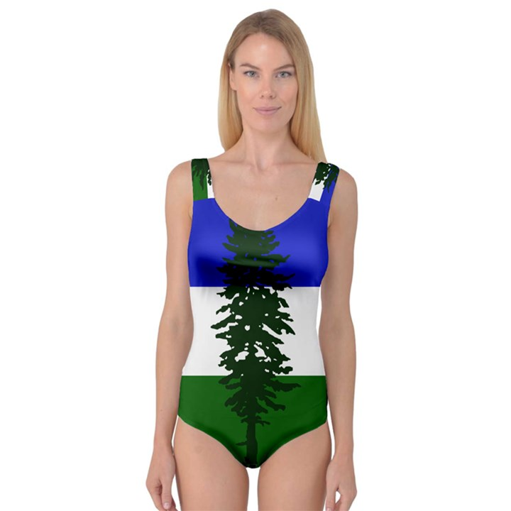 Flag of Cascadia Princess Tank Leotard