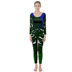 Flag Of Cascadia Long Sleeve Catsuit
