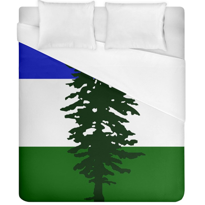 Flag of Cascadia Duvet Cover (California King Size)