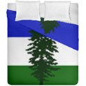 Flag of Cascadia Duvet Cover Double Side (California King Size) View1