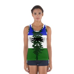 Flag Of Cascadia Sport Tank Top