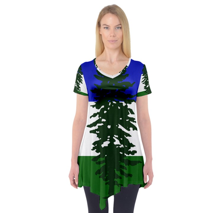 Flag of Cascadia Short Sleeve Tunic