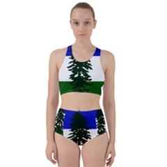Flag Of Cascadia Racer Back Bikini Set