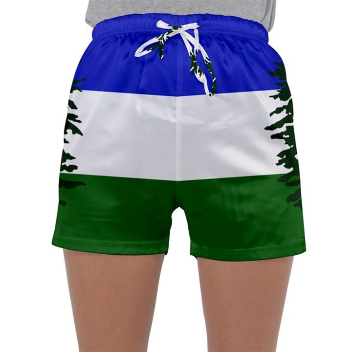 Flag of Cascadia Sleepwear Shorts