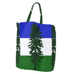 Flag Of Cascadia Giant Grocery Zipper Tote