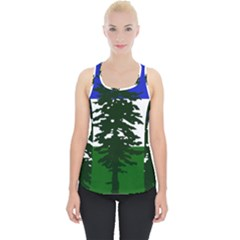 Flag Of Cascadia Piece Up Tank Top