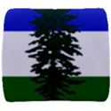 Flag of Cascadia Back Support Cushion View1