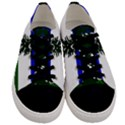 Flag of Cascadia Men s Low Top Canvas Sneakers View1