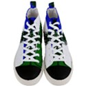 Flag of Cascadia Men s Mid-Top Canvas Sneakers View1
