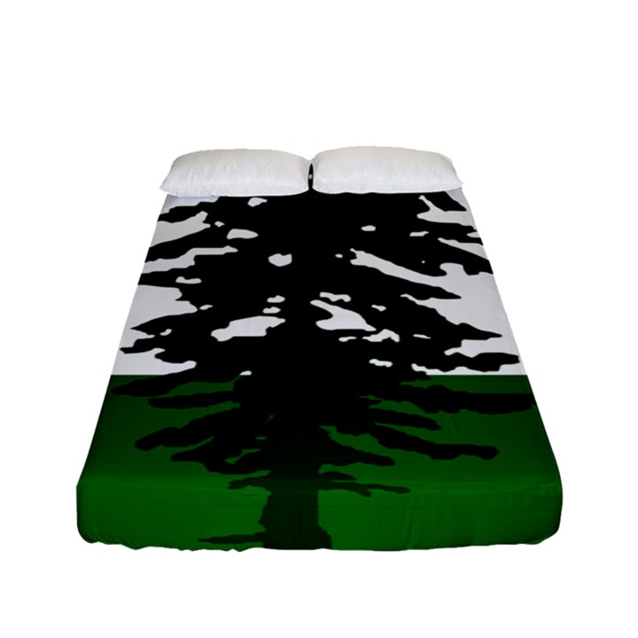 Flag of Cascadia Fitted Sheet (Full/ Double Size)