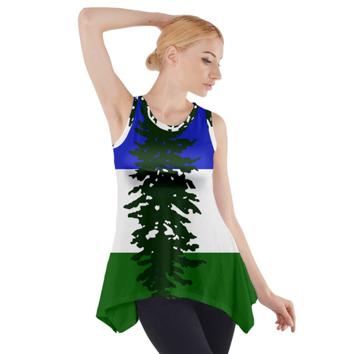 Flag of Cascadia Side Drop Tank Tunic