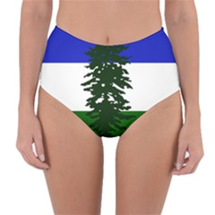Flag Of Cascadia Reversible High Waist Bikini Bottoms
